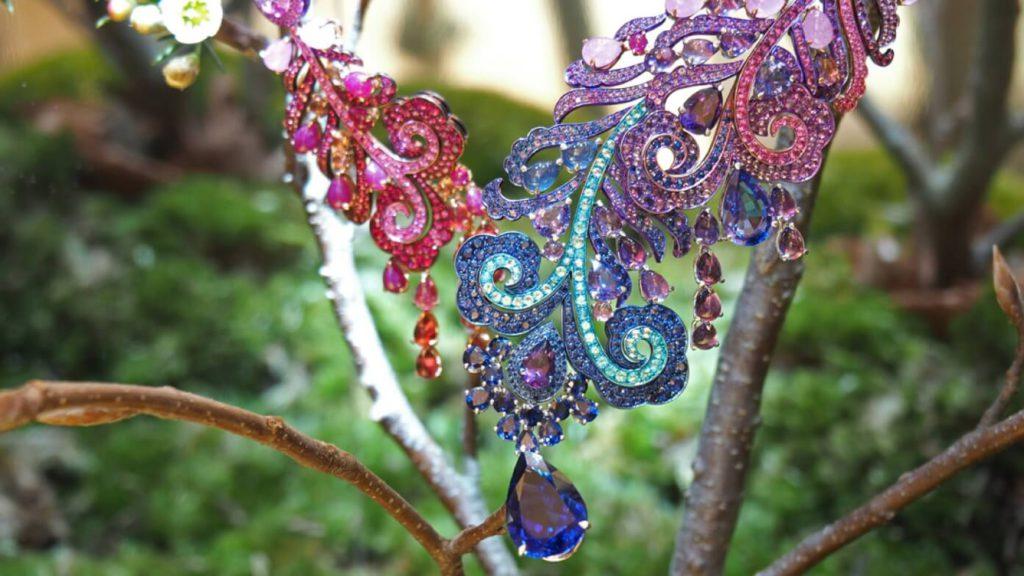 Las joyas Fleurs d'Opale Collar_Chopard_AltaJoyeria2016