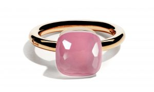 Pomellato Nudo, el icónico anillo en color rosa