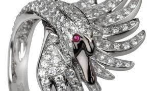 La Sortija Cypris en zafiros o diamantes de Boucheron