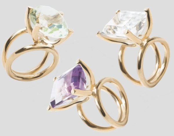 Las joyas de Daniel Espinosa para una boda