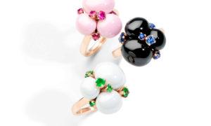 Los anillos Pomellato Capri Fresh