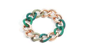 Pomellato joyas verde esmeralda para Otoño