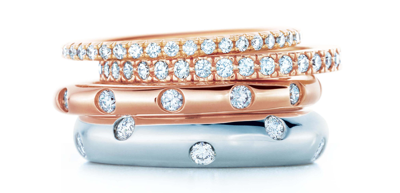 8c48bade3430 Alianzas y anillos de compromiso de Tiffany Nueva York - Corazón de ...