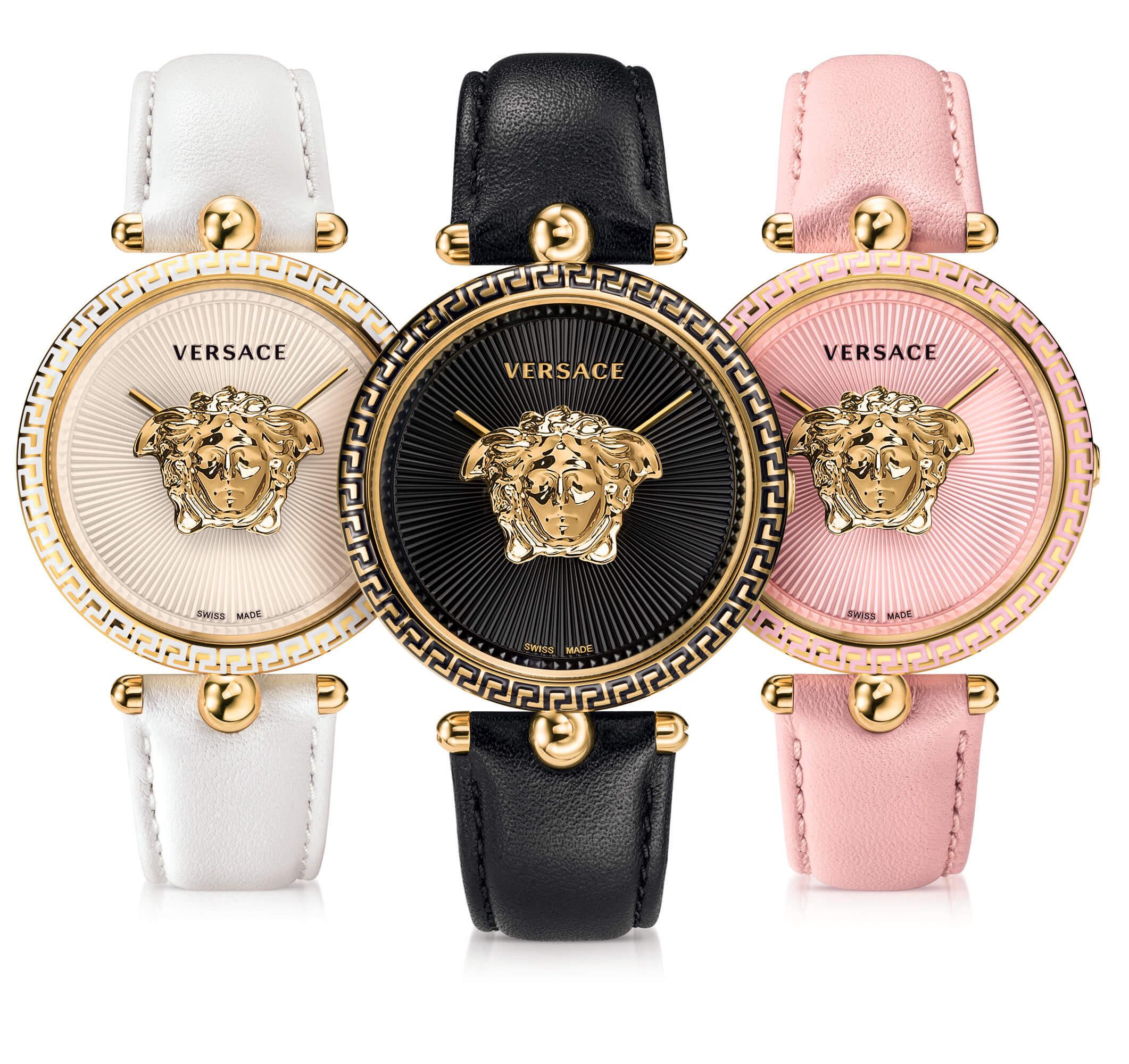 601973fdb9e5 El nuevo reloj Versace Palazzo Empire ha sido recientemente presentado. Y  es sobre todo muy femenino. Un modelo lujoso intrínseco a la marca Versace.