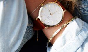 Relojes Gramercy Rosefield, modernos y femeninos