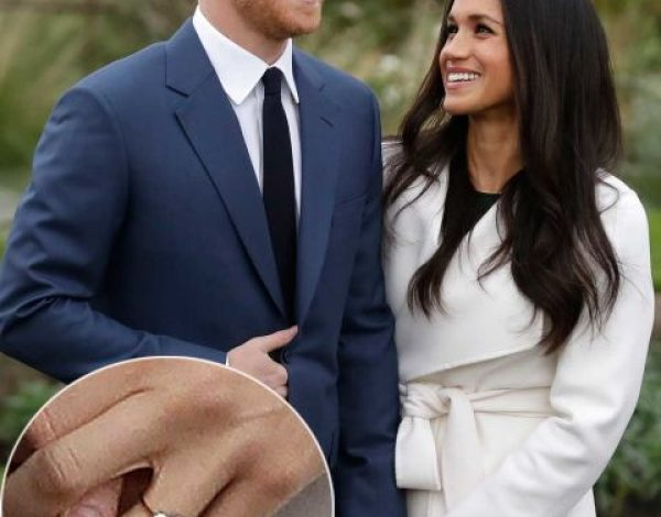 El anillo de compromiso real de Henry para Meghan