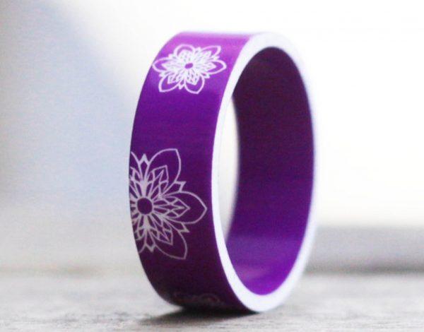 El anillo Mood ultra violeta, el color del año