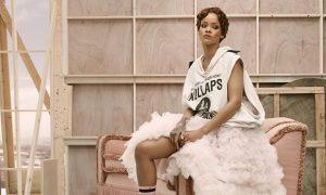 Los calcetines joya de Rihanna