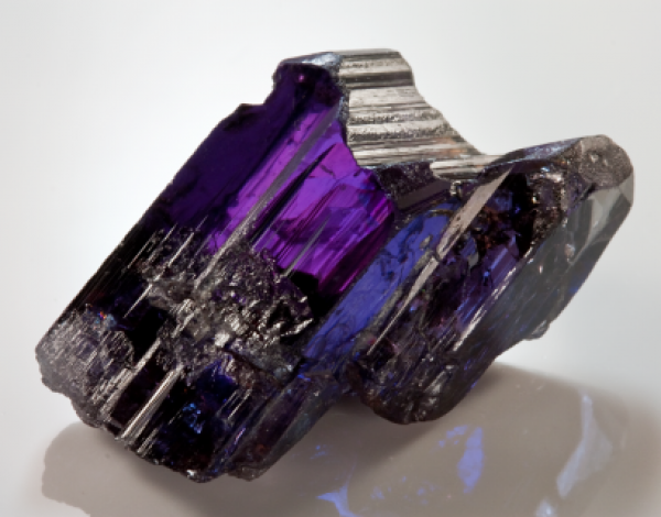 La tanzanita piedra preciosa rara