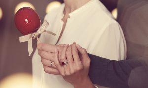 Regalar alta joyería en San Valentín