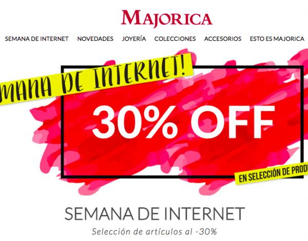 Comprar Majorica online más barato esta semana