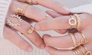 Combinar anillos para estar a la moda