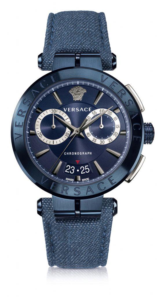 Versace Aion Reloj en Denim
