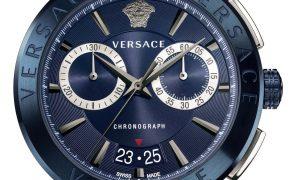 Versace Aion un reloj total denim