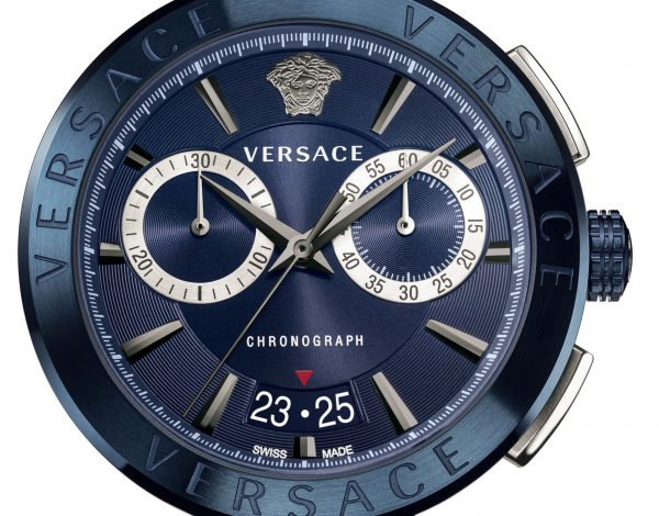 Versace Aion un reloj total denim