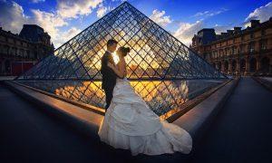 Alianza Corazón con diamantes, anillos de boda