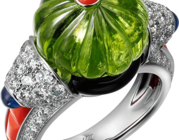 Coloratura de Cartier, joyas llenas de color