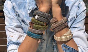 Las joyas textiles de Carolina Bucci