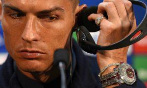 El reloj de Ronaldo que vale millones