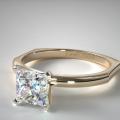 El anillo de compromiso James Allen que encaja a la perfección
