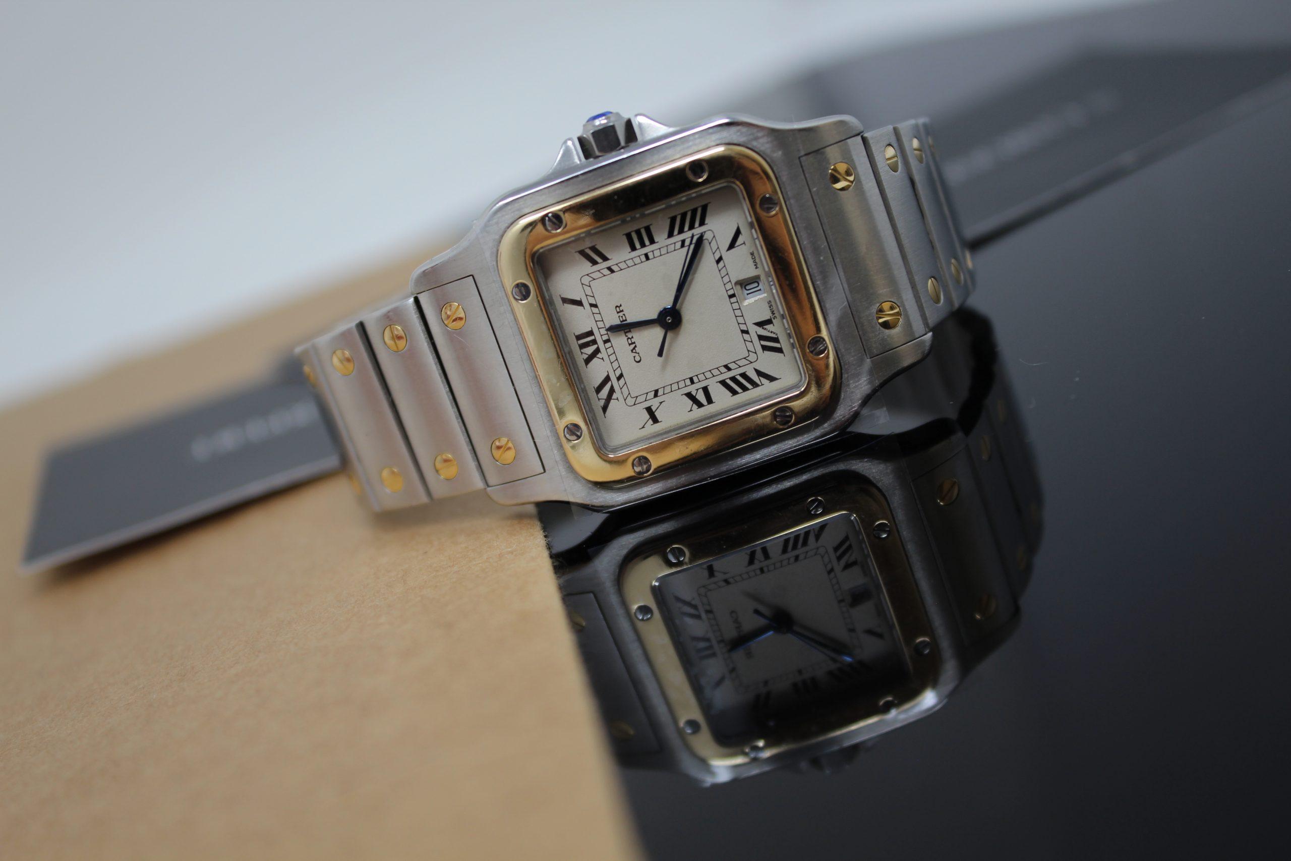 Chronoexpert relojes mujer Cartier Santos